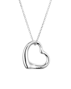 """Bloomingdale's - Open Heart Pendant Chain Necklace, 16"""" - 100% Exclusive"""