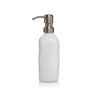 Vietri Bath Essentials White Gloss Soap Dispenser - 100% Exclusive