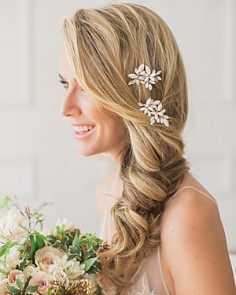 Brides and Hairpins - Efi Crystal Combs