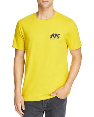 A.p.c. Sid Logo Graphic Tee