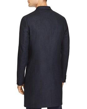 PS Paul Smith - Plaid Long Overcoat