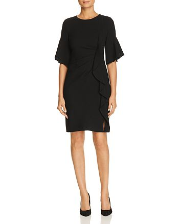 Elie Tahari - Whitley Ruffle-Trim Dress
