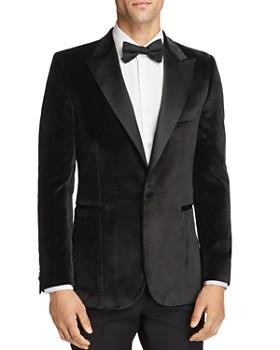 Paul Smith - Velvet Satin Peak Slim Fit Tuxedo Jacket