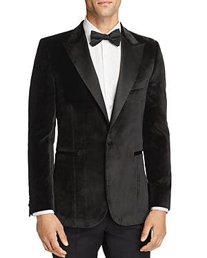 Paul Smith Velvet Satin Peak Slim Fit Tuxedo Jacket