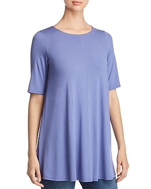 Eileen Fisher Seamed Swing Top