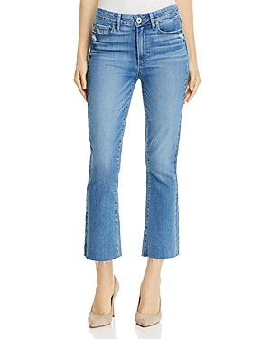 Paige Colette Crop Flare Jeans in Tamsen - 100% Exclusive thumbnail