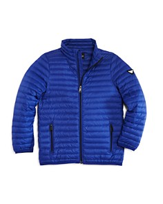 Armani Junior Boys' Lightweight Puffer Jacket - Little Kid, Big Kid - Bloomingdale's_0
