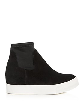 AQUA - Women's Wynn Suede High Top Platform Sneakers