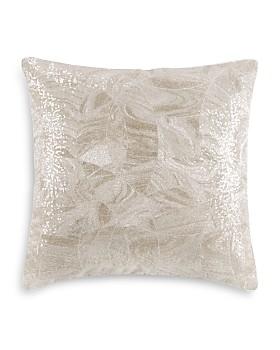 "Hudson Park Collection - Marbled Deco Decorative Pillow, 18"" x 18"" - 100% Exclusive"
