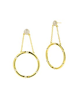 Freida Rothman - Radiance Loop Drop Earrings