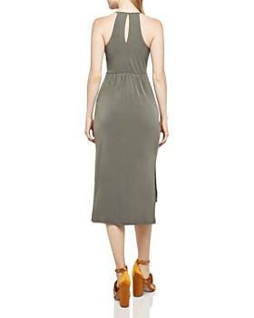 BCBGeneration - Faux Wrap Midi Dress