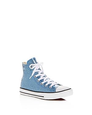Converse Girls' Chuck Taylor All Star Glitter High Top Sneakers - Little Kid, Big Kid
