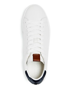 COACH - Men's C101 Leather Lace Up Sneakers