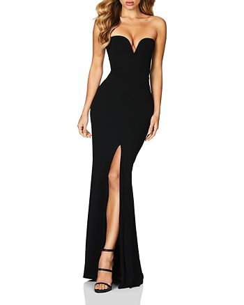Nookie - Honey Strapless Gown