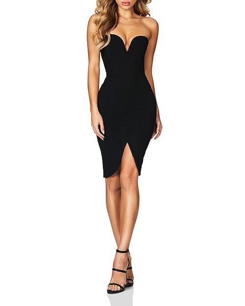 Nookie - Honey Strapless Dress