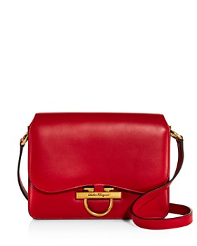 Salvatore Ferragamo Medium Vera Calfskin Shoulder Bag