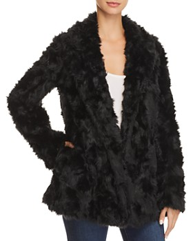 Theory - Clairene Faux-Fur Coat