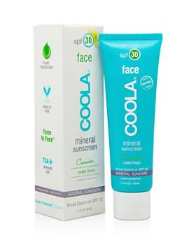 Coola - Face Mineral Sunscreen SPF 30 Matte Cucumber