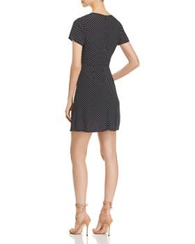 Three Dots - Polka-Dot Mini Dress