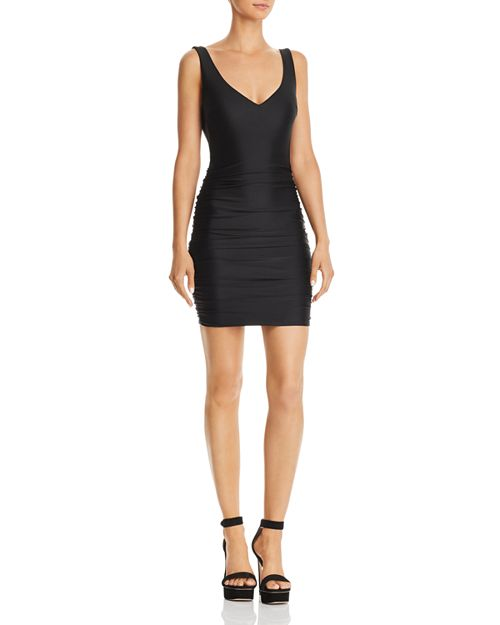 Tiger Mist - Stephanie Sleeveless Ruched Dress