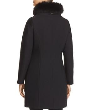 Herno - Fur Trim Slim Fit Long Coat
