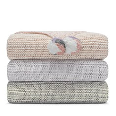 Sky - Marled Knit Throw - 100% Exclusive