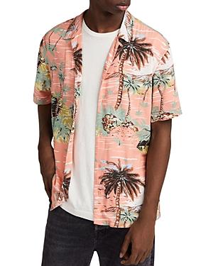 Allsaints Luau Short-Sleeve Sport Shirt