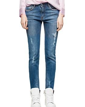 Zadig & Voltaire - Eva Use Slim Jeans in Blue