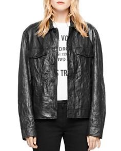 Zadig & Voltaire - Kase Leather Jacket