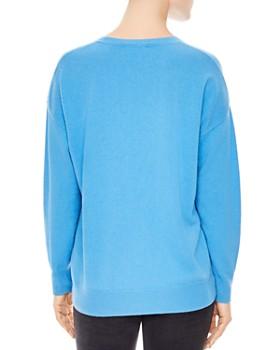 Sandro - Childhood Flashback Wool & Cashmere Graphic Sweater