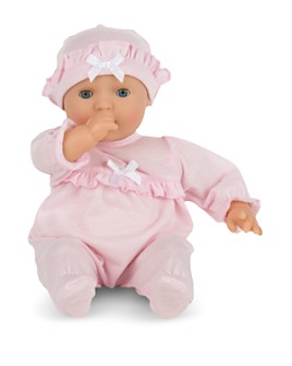 Melissa & Doug - Mine to Love Jenna Baby Doll, Food & Bottle Bundle