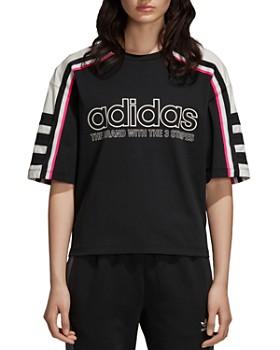 Adidas - OG Striped Logo Tee