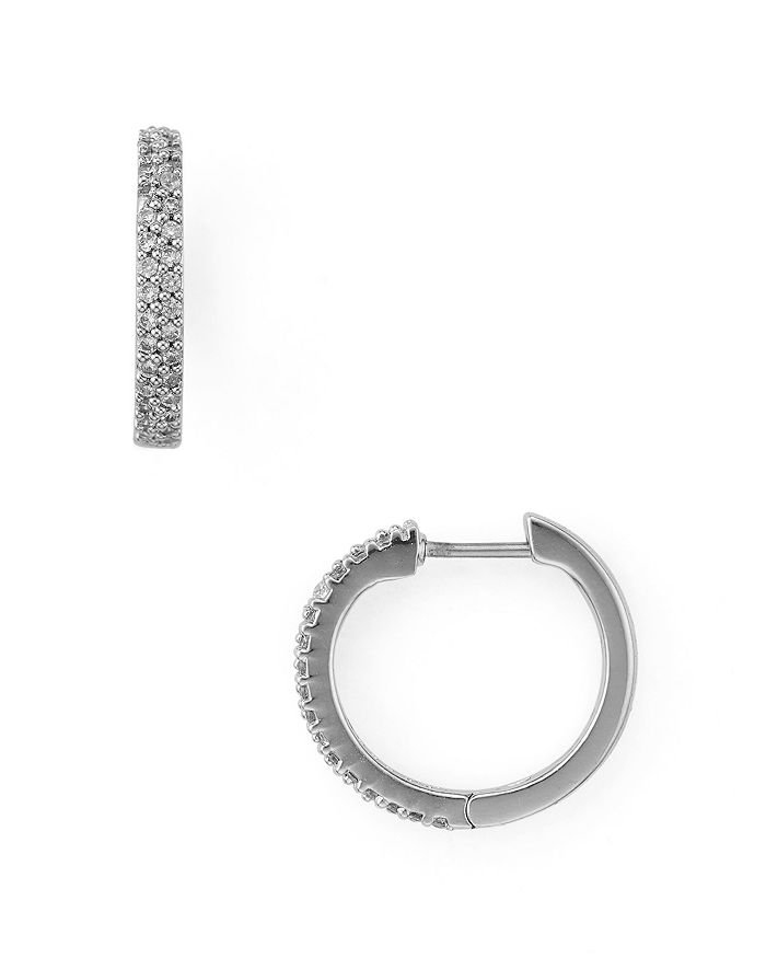 a297adfa1 kate spade new york Pavé Huggie Hoop Earrings | Bloomingdale's