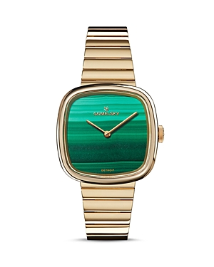 Gomelsky The Eppie Gold-Tone Watch, 32mm x 32mm