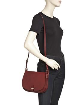Celine Lefebure - Emma Medium Leather Saddle Bag - 100% Exclusive
