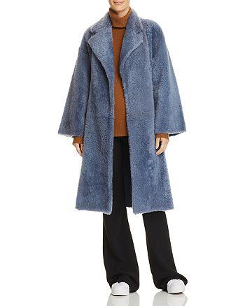 Theory - Shearling Robe Coat