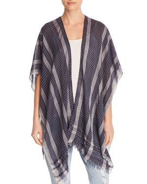 STRIPE-STITCH WRAP