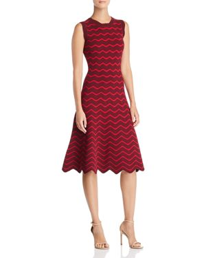 Milly Textured Wave Dress