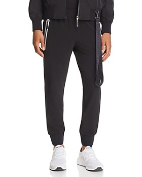 BLACKBARRETT by Neil Barrett - Contrast Zip Track Pants