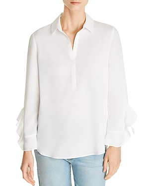 Le Gali Deanna Ruffle-Sleeve Blouse - 100% Exclusive