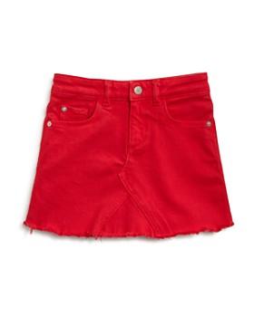 DL1961 - Girls' Frayed Denim Skirt - Little Kid