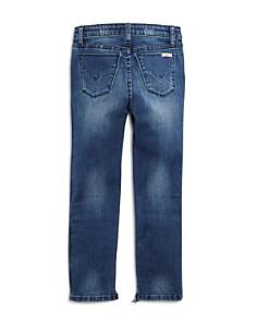 Hudson - Girls' Star-Studded Step-Hem Ankle Jeans, Big Kid - 100% Exclusive