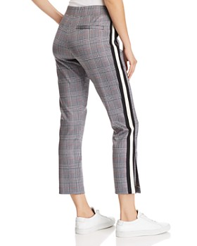 PAM & GELA - Glen Plaid Track Pants