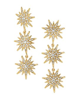 BAUBLEBAR - Horizon Triple Starburst Drop Earrings