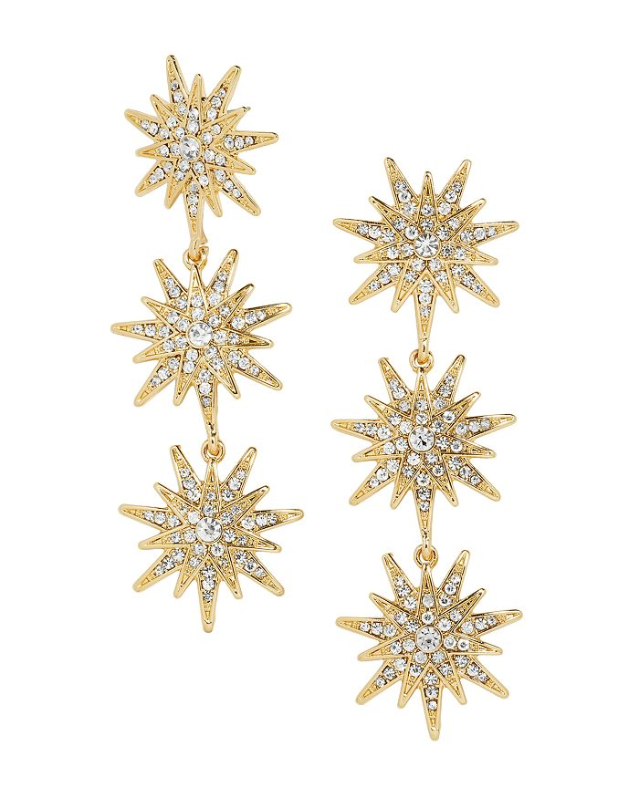 BAUBLEBAR - Horizon Triple Starburst Drop Earrings