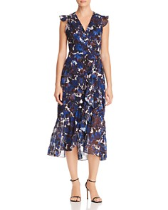 Whistles - Williamsburg Printed Wrap Dress - 100% Exclusive