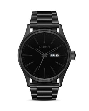 Nixon Bracelets THE SENTRY BLACK SS WATCH, 42MM