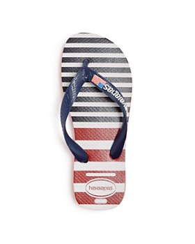 havaianas - Unisex USA Stripe Flip-Flops - Little Kid, Big Kid
