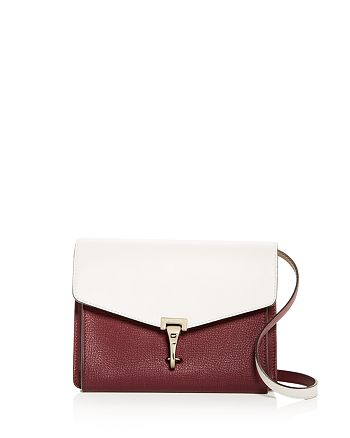 a7dce707dfa0 Burberry - Two-tone Leather Crossbody Bag