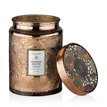 Voluspa - Copper Clove Large Jar Candle, 16 oz.